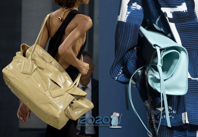 Модные сумки от louis vuitton весна-лето 2020 фото тенденции