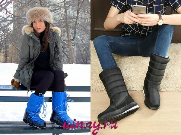Сапоги женские осень-зима 2019-2020 фото новинки