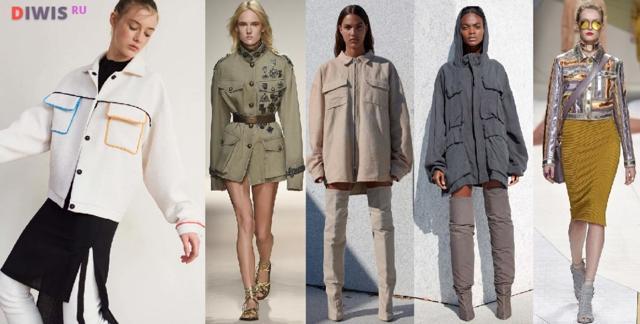 Куртки женские на весну 2019 модные новинки фото