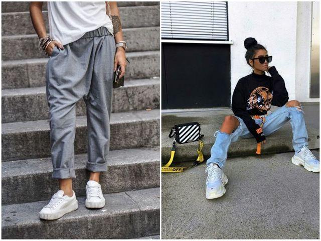 Модные стильные сникерсы 2020 фото новинки