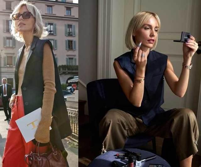 c чем носить удлиненный жилет без рукавов 2020 фото