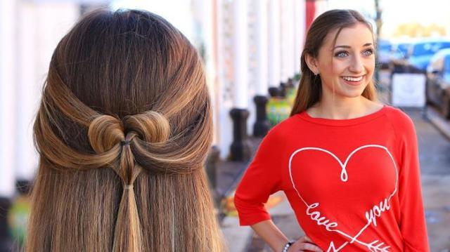 Модные красивые прически ко дню Святого Валентина 2020 фото