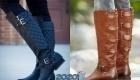 Модные женские сапоги 2020 фото цвета популярные модели