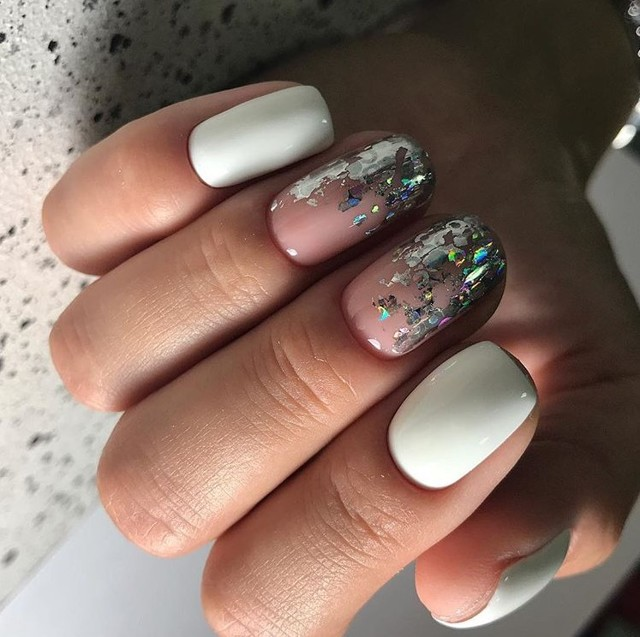 Дизайн ногтей гель-лаком зима 2019 модные новинки