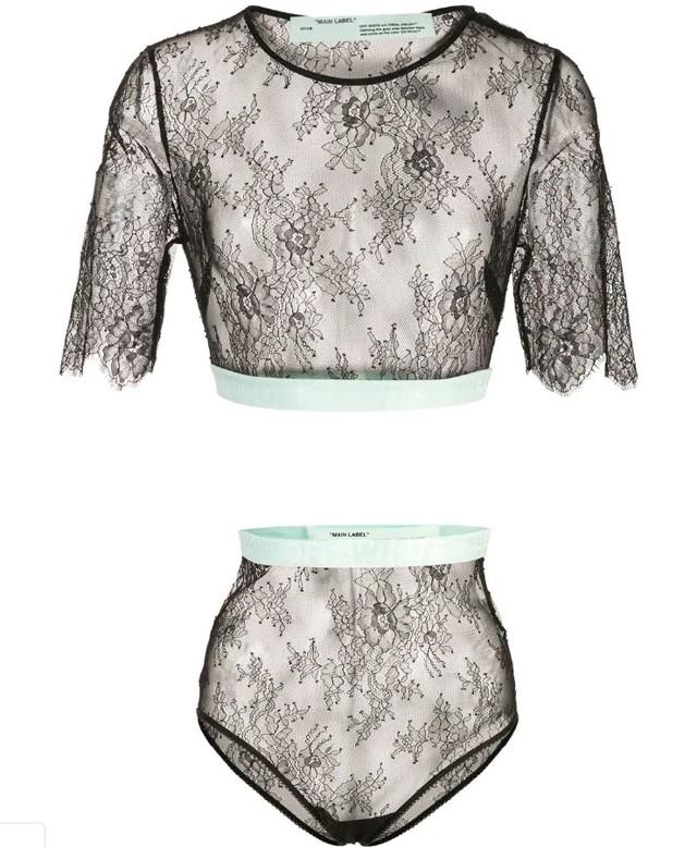 Красивое прозрачное женское белье 2019-2020 роковая красотка