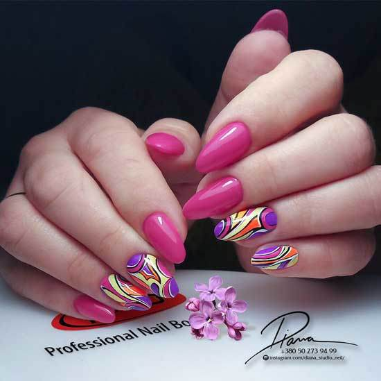 Дизайн ногтей гель-лаком 2020 модные тенденции идеи 93 фото