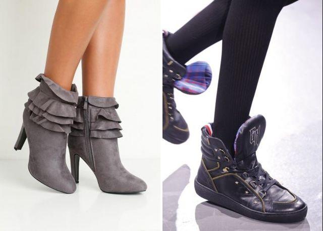 Обувь на тракторной подошве 2020 фото модные новинки