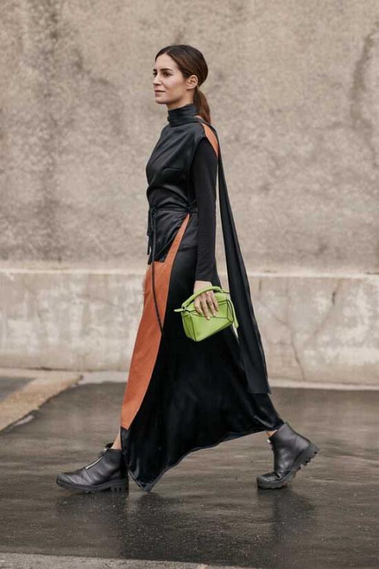 Самые красивые черные платья 2020 года фото модные фасоны
