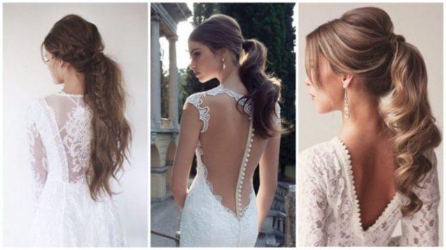 Свадебные причёски 2019 фото ОЧЕНЬ красивых вариантов ИДЕИ