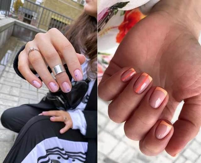 Бульонки на ногтях 2020 фото красивый дизайн