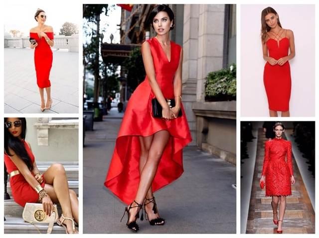 Маникюр под красное платье 2020 фото стильные идеи новинки