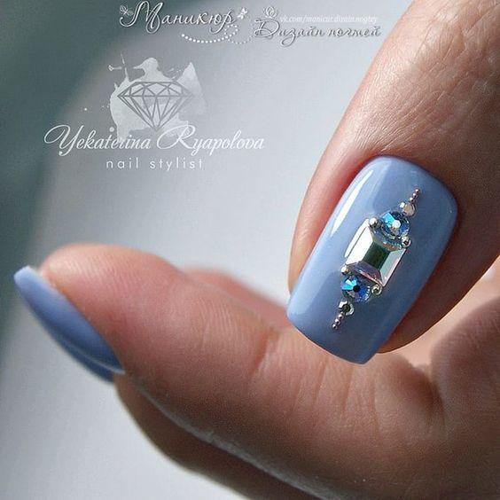 Зимний дизайн ногтей шеллаком 2020 фото 42 новинки идеи