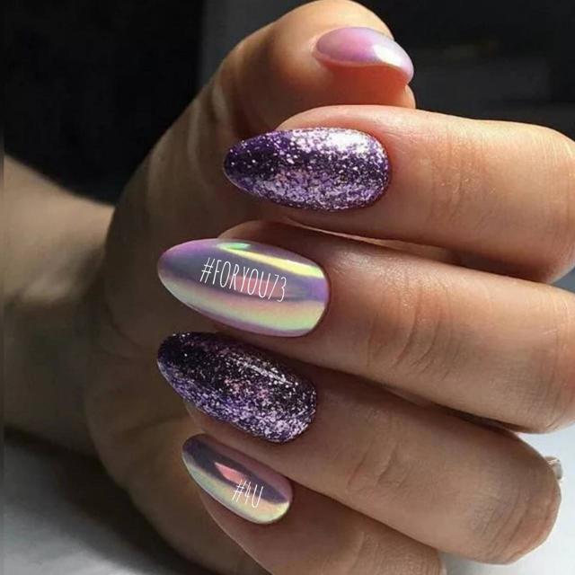 Светлый маникюр на коротких ногтях 2020 фото 68 модных идей