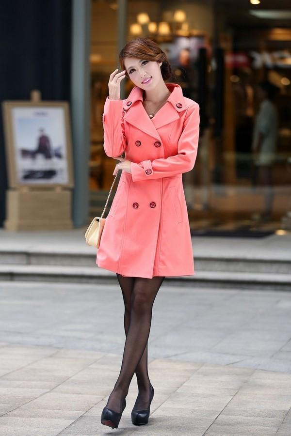 С чем носить розовое пальто 2020 фото модные направления