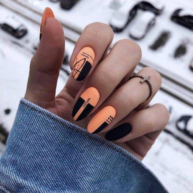 Дизайн ногтей шеллаком 2020 тенденции 73 фото новинки