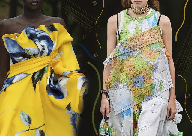 Морской стиль в одежде весна-лето 2020 новинки фото подиум
