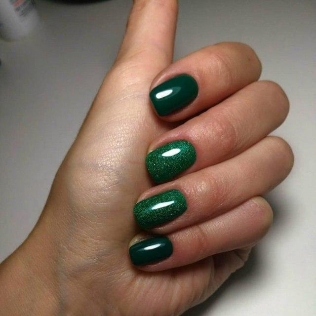 Глянцевый дизайн ногтей гель лаком 2020 - свежие идеи с фото