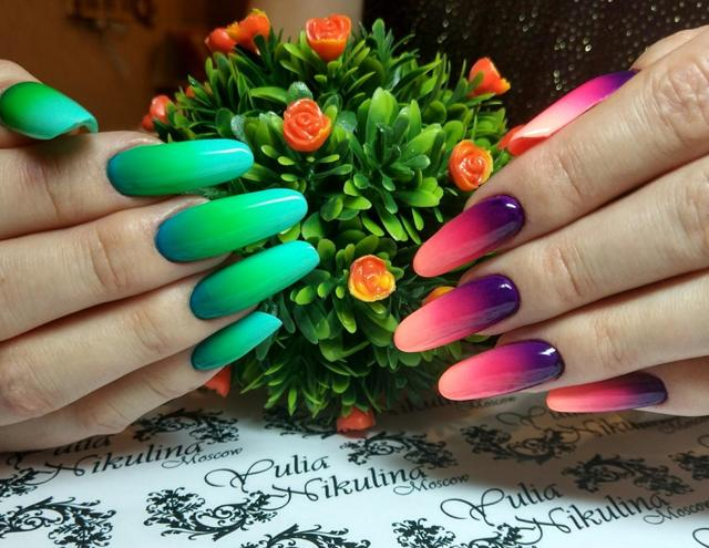 Цветной френч 2020 новинки модные идеи тенденции 76 фото