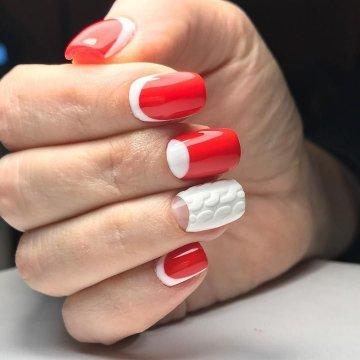 Зимний дизайн ногтей 2020 фото модные идеи