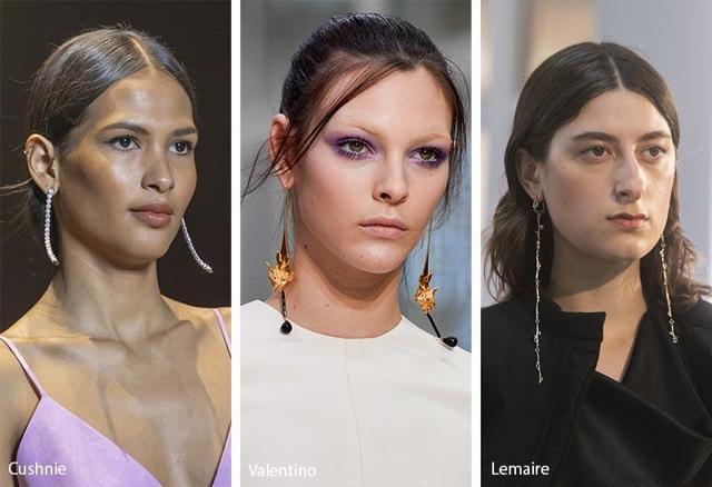 Большие, крупные серьги весна-лето 2019 модный ТРЕНД фото