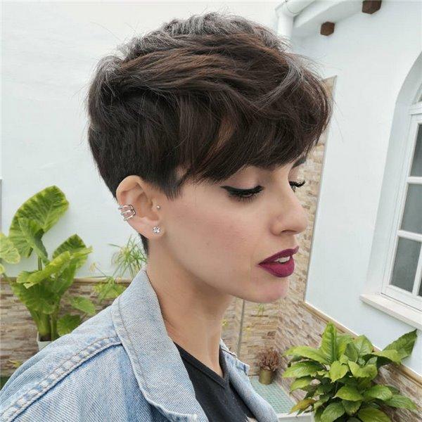 Стильные стрижки на короткие волосы 2020 новинки 68 фото