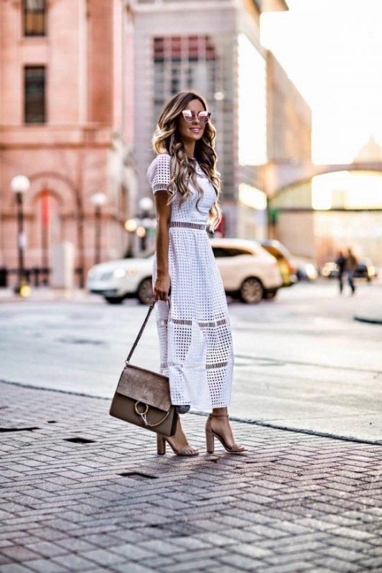 Модные длинные платья весна-лето 2020 тенденции фото новинки