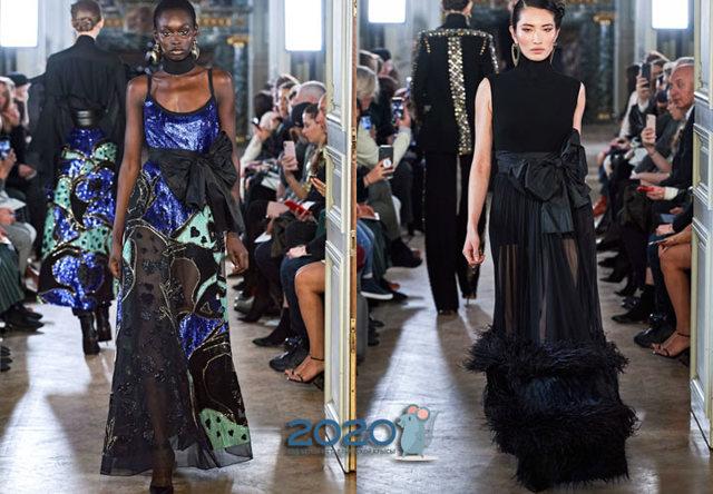 Винтажные платья 2020 модные тенденции 45 фото новинки