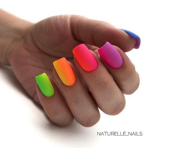 Модный маникюр на квадратных ногтях 2020 фото стильные идеи