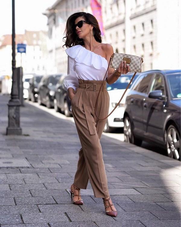 Модные брюки женские осень-зима 2019 фото ТЕНДЕНЦИИ