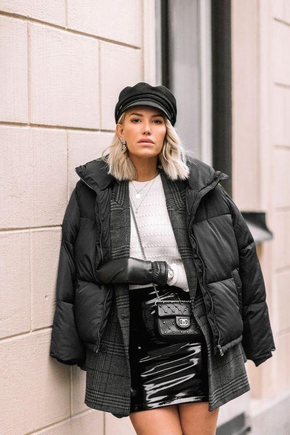 Модные женские пуховики 2020 фото фасоны новинки моды