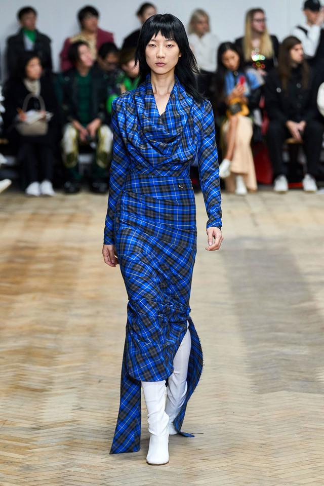 Модные платья на каждый день осень-зима 2019-2020 идеи фото