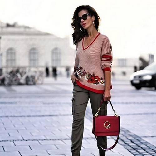 Модный лук осень-зима 2019-2020 фото новинки