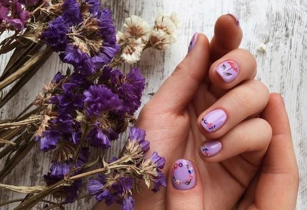 Двухцветный маникюр весна-лето 2019 самые актуальные ФОТО