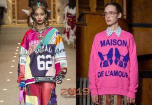 Модные образы со свитшотами 2019-2020: фото новинки, тренды
