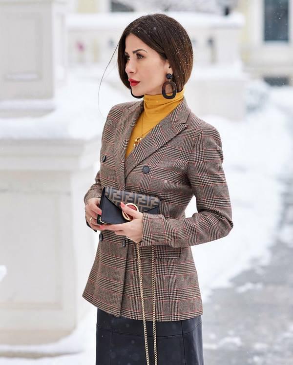 Строгий деловой стиль образы осень-зима 2019-2020 (63 фото)