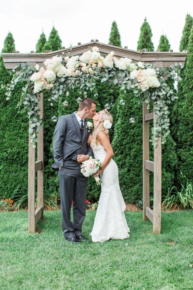 Свадебная арка новинки 2020 года - модные формы, фото, идеи
