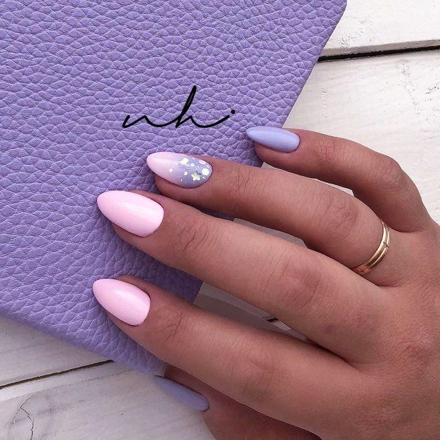 Модный нежно-розовый маникюр фото 2020 идеи дизайна