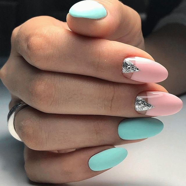 Рисунки на ногтях гель-лаком весна-лето 2019 ДИЗАЙН 58 фото