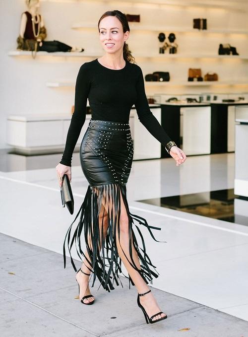 С чем носить юбку карандаш фото 2020 модные примеры образы