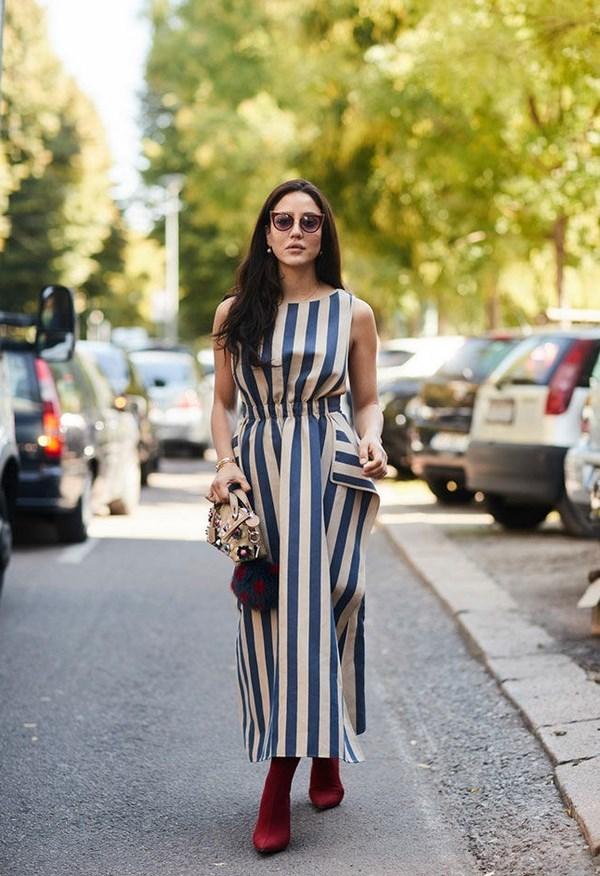 Весенние образы с платьем в 2020 году: стильные луки, фото