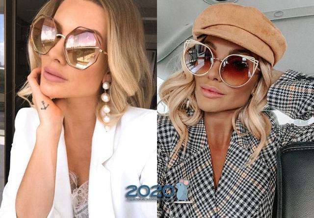 Стильные солнцезащитные очки 2020 фото последние новинки