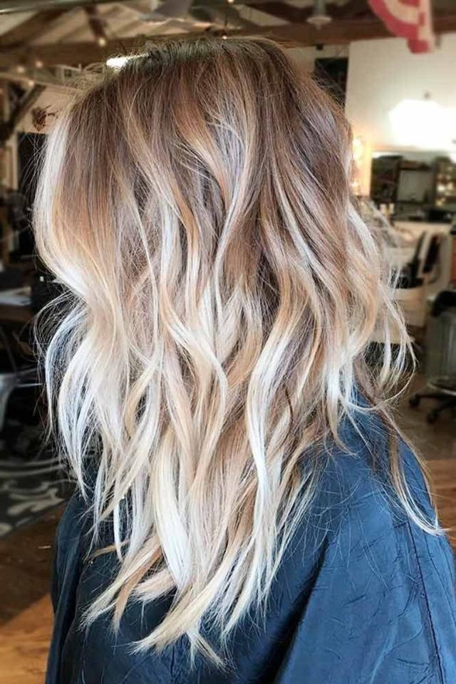 Модная яркая покраска волос 2020 фото новинки тенденции