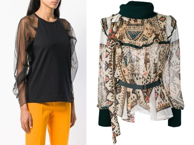 Модные блузки женские 2019 года идеи образов тенденции фото