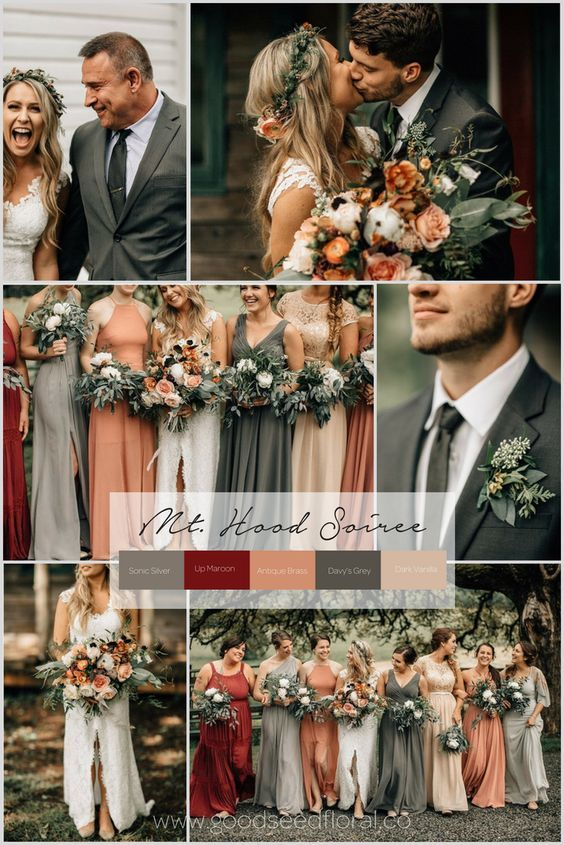 Платья для подружек невесты 2020 фото модные фасоны