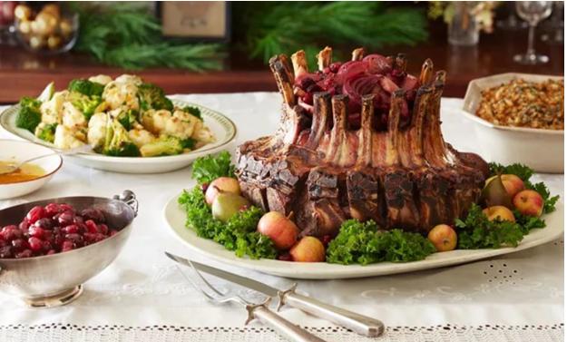 Горячие блюда на Новый 2019 Год МЕНЮ праздничный СТОЛ фото