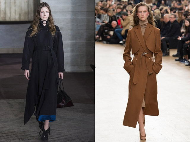 c чем носить черное пальто фото 2020 тенденции образы