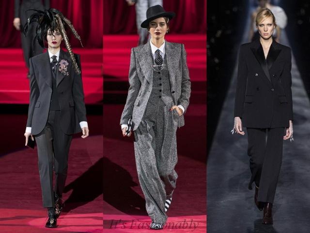 Модные брючные женские костюмы 2020 новинки 82 фото