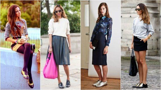 Модные женские оксфорды 2020 фото фасоны цвета образы