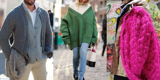 Модные свитера кардиганы джемперы осень-зима 2019-2020 фото