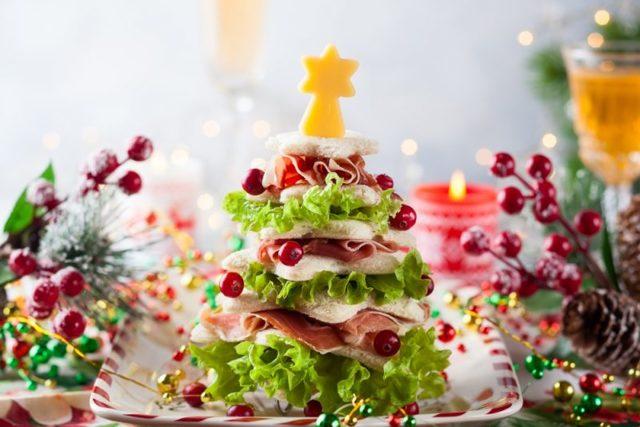 Рождественский стол 2019 праздничные блюда новинки рецептов